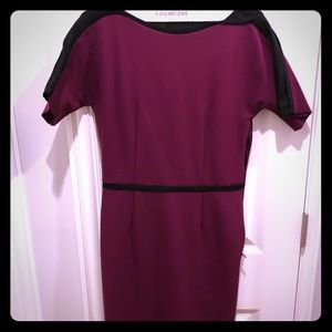 GUCCI deep purple/fuchsia dress!!
